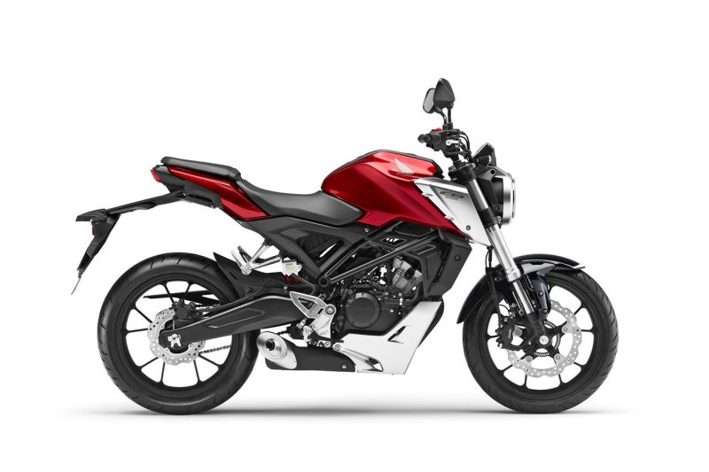 Honda CB125R ABS, Candy Red
