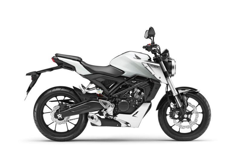 Honda CB125R ABS, Metalloid White