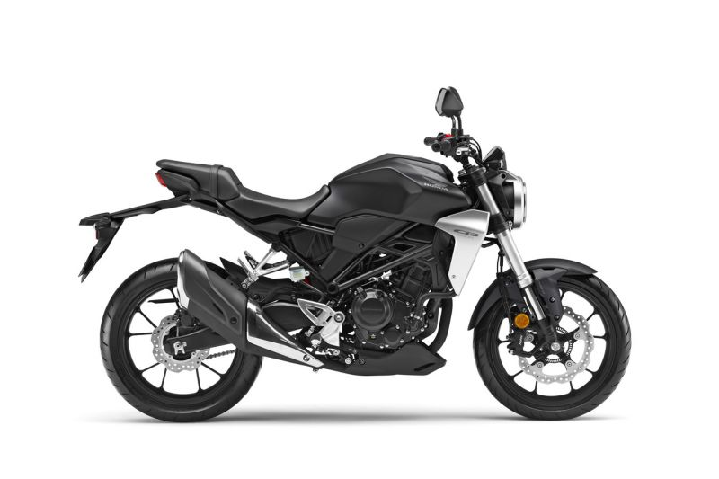 Honda CB300R ABS, Mat Axis Grey