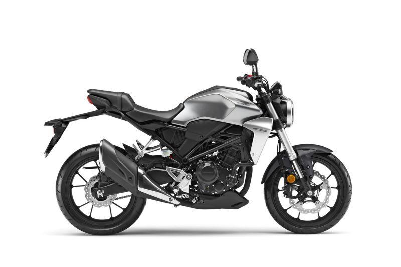 Honda CB300R ABS, Mat Krypton Silver