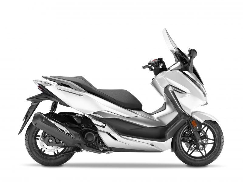 skútr Honda  Forza 300 ABS, bílá Cool