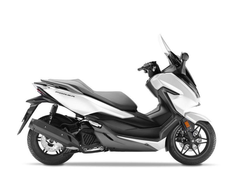 skútr Honda  Forza 125 ABS, bílá mat White/Silver