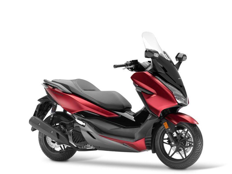skútr Honda  Forza 125 ABS, červená mat Red/Black
