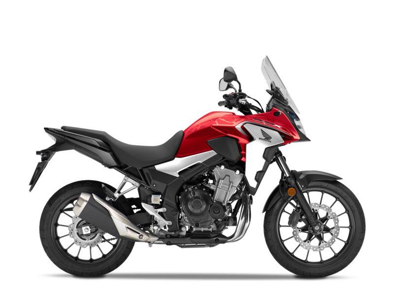 Honda CB500X ABS, červená Red