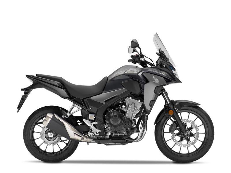 Honda CB500X ABS, černá mat Black Metallic