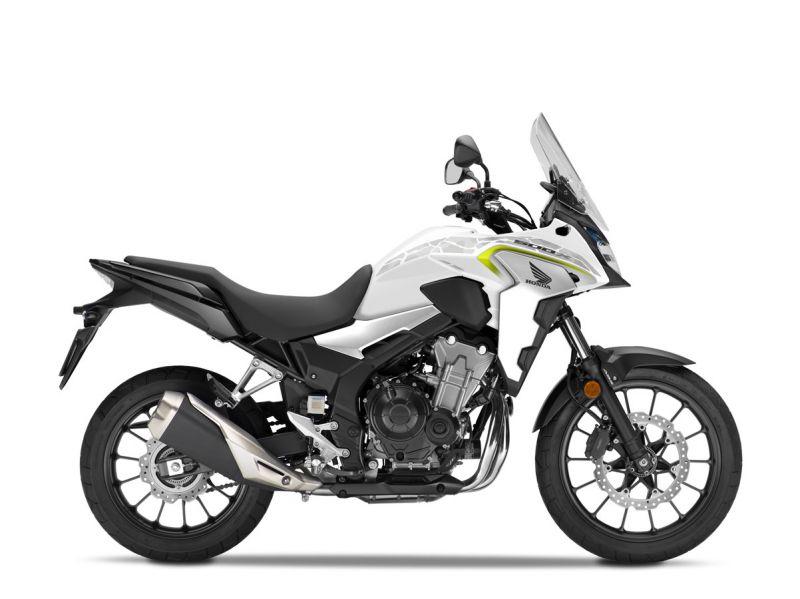 Honda CB500X ABS, bílá Metalloid White