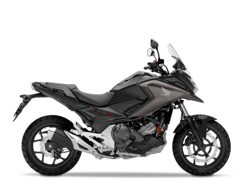Honda NC750X ABS, Mat Gunpowder Black