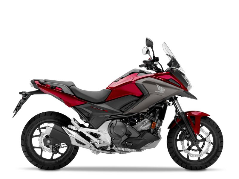Honda NC750X ABS, Candy Red