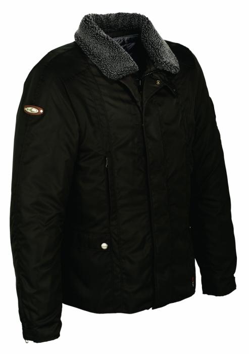 CLOVER textilní bunda Stafford, OIL