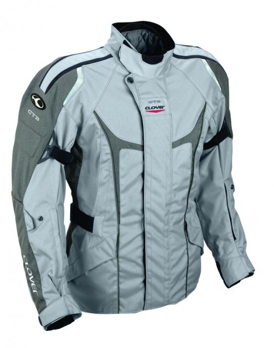 CLOVER textilní bunda GT-3, GR/GR