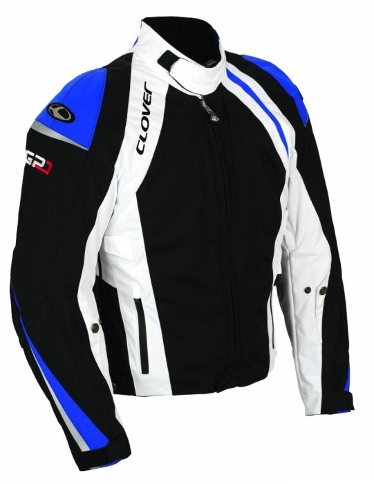 CLOVER textilní bunda GP-1, N/BT