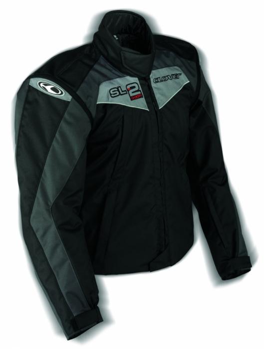CLOVER textilní bunda SL-2, N/GR