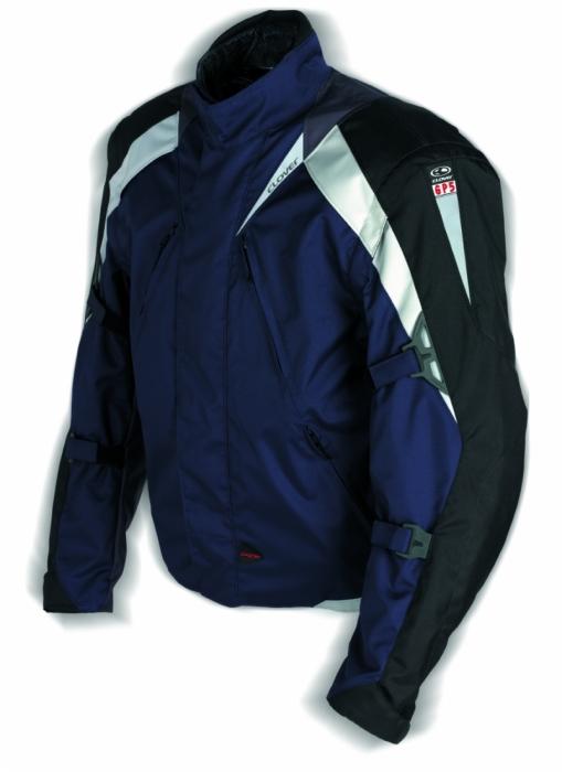 CLOVER textilní bunda GP5, BL/N