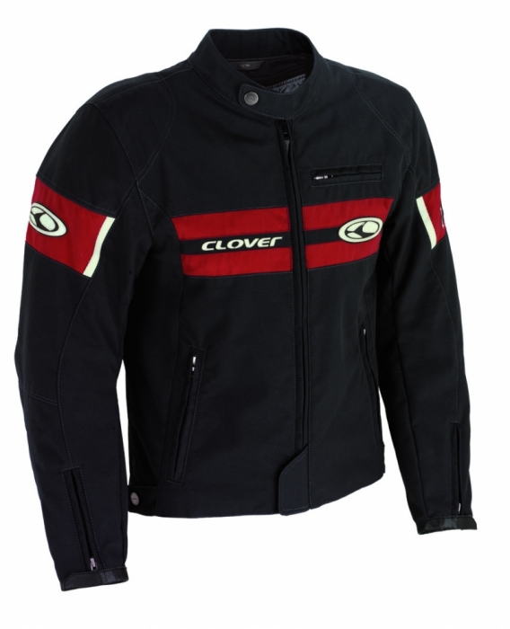 CLOVER textilní bunda Redrock, GRA/R