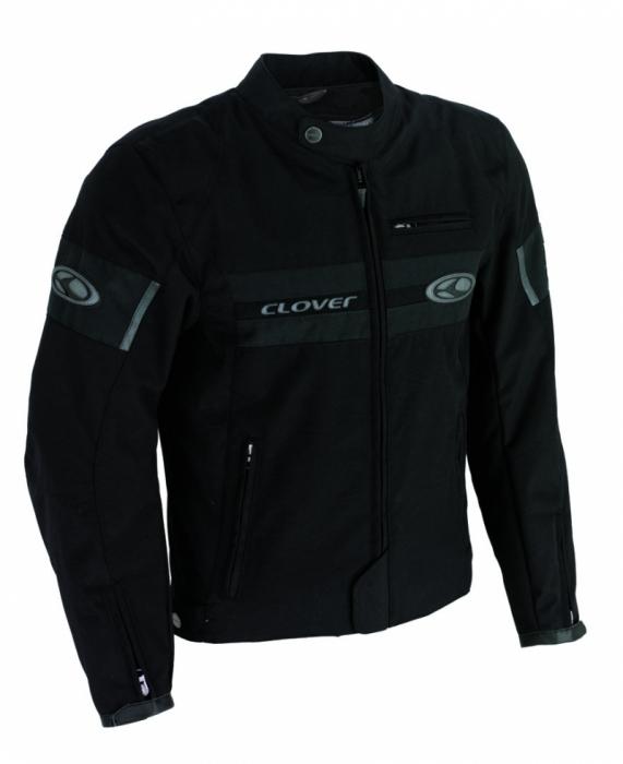 CLOVER textilní bunda Redrock, N/GRA