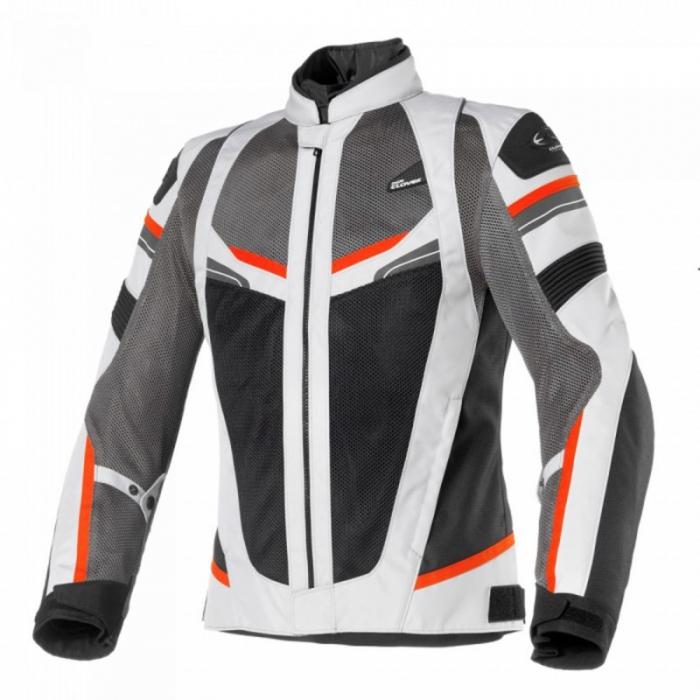 CLOVER textilní bunda Rainjet, R/GR