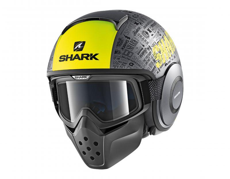 SHARK přilba Drak Tribute mat, AYK