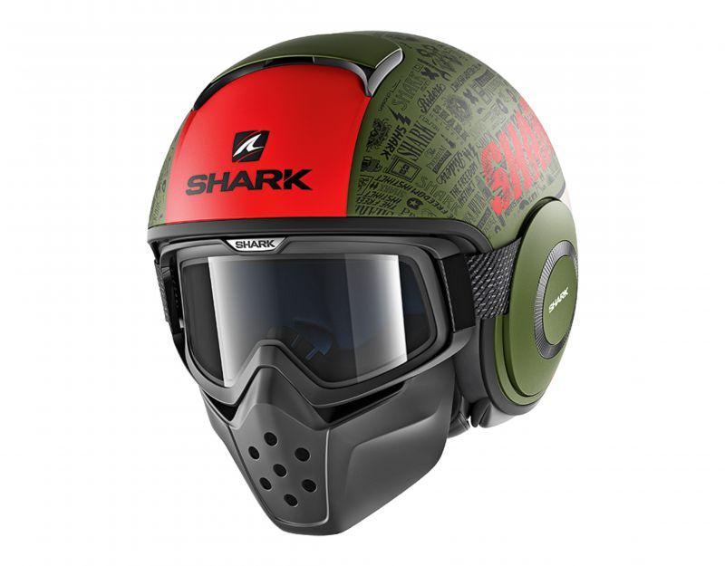 SHARK přilba Drak Tribute mat, GRK