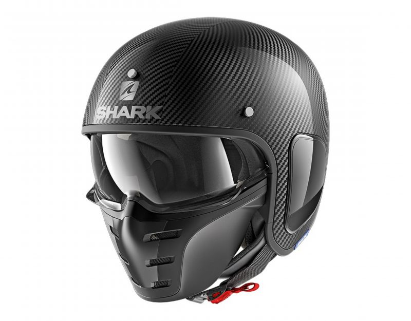 SHARK přilba S-Drak Carbon Skin, DSK