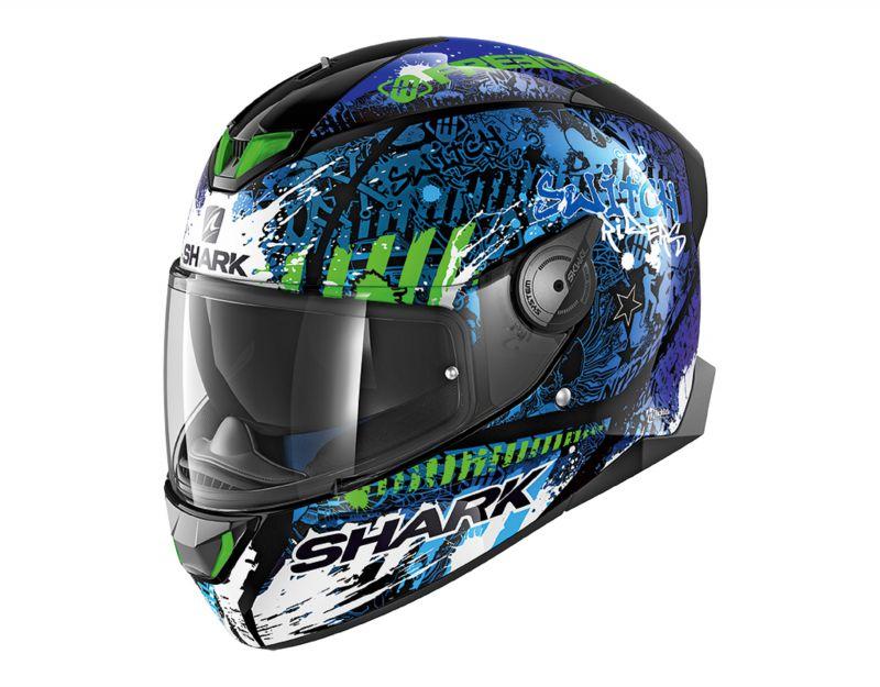 SHARK přilba SKWAL_2 Switch Rider, KBG