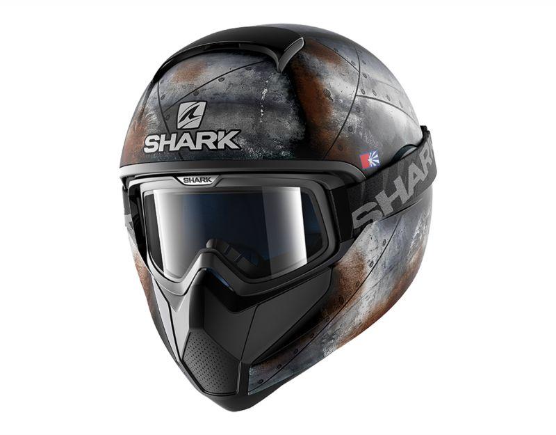 SHARK přilba Vancore Flare mat, KAO