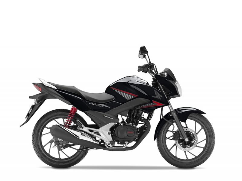 Honda CB125F, černá Onyx