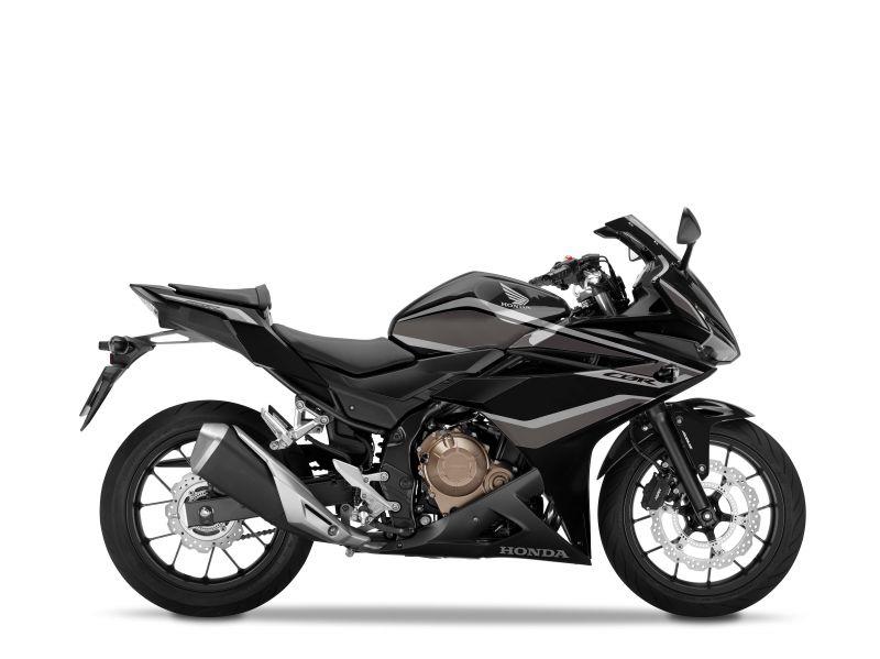 Honda CBR500R, černá