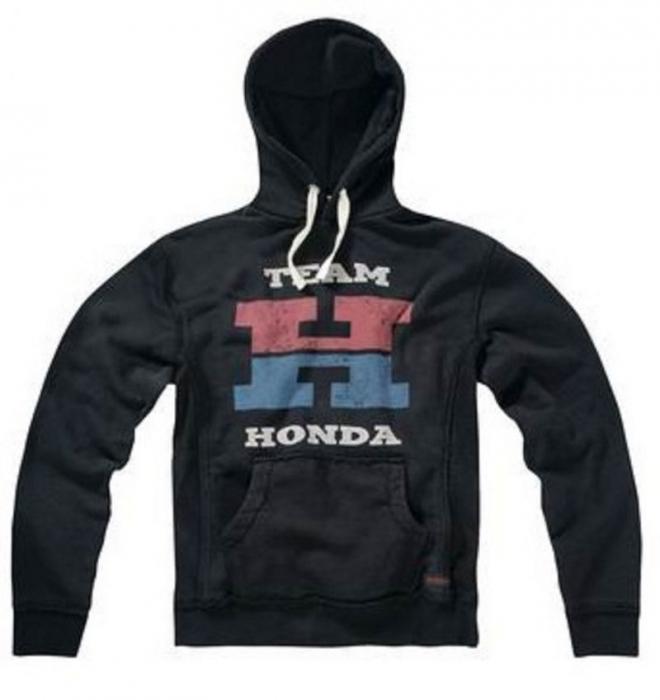 GAS Vintage mikina Honda Team, BLK