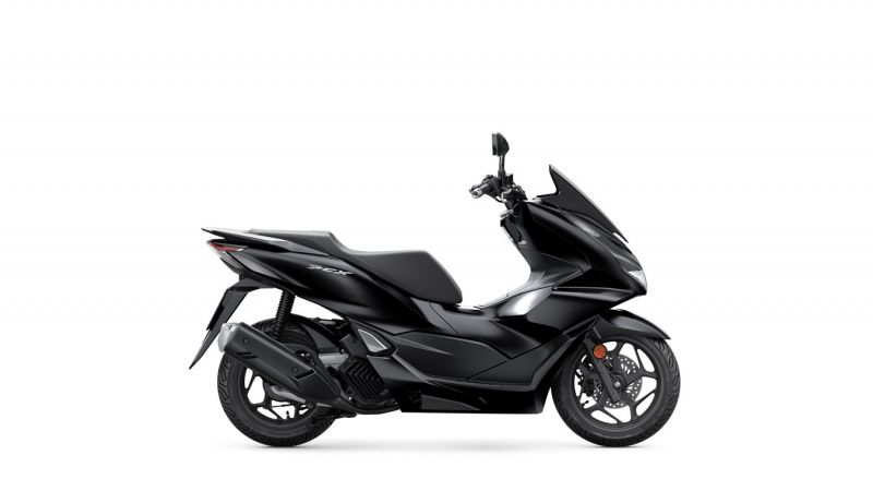 skútr Honda PCX125 2021, Matt Galaxy Black