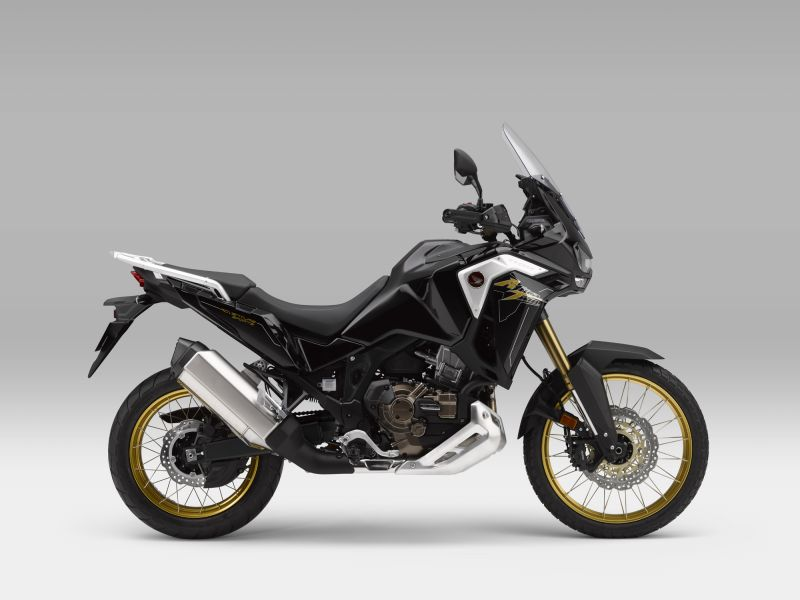 Honda CRF1100L4 Africa Twin Adventure SPORTS, černá Metallic Darkness