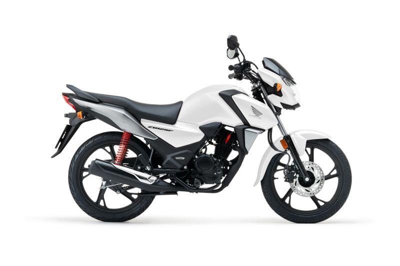 Honda CB125F, Pearl cool white