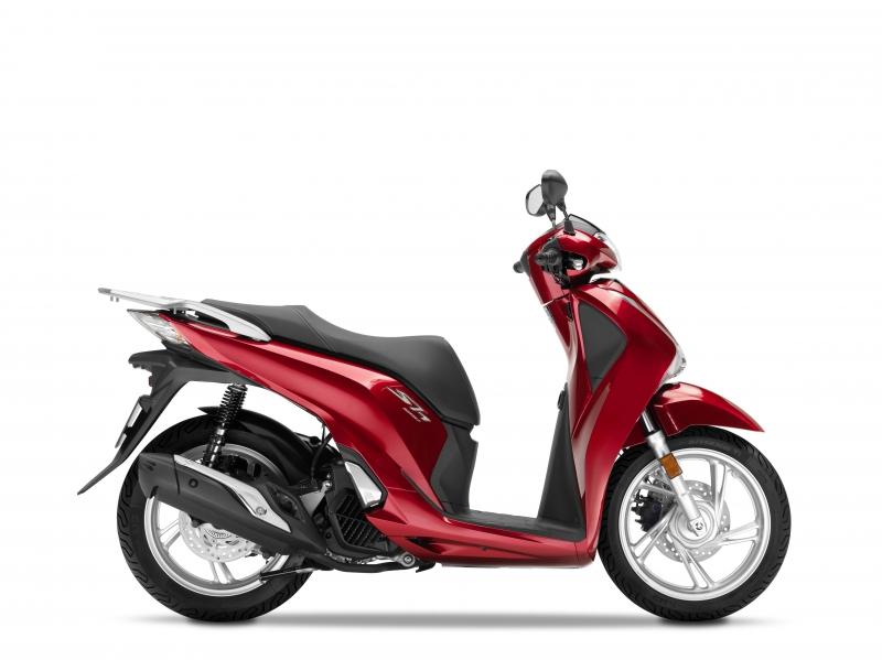 SH125i červená