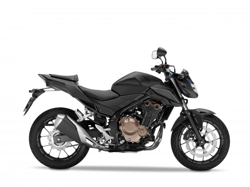 CB500F černá