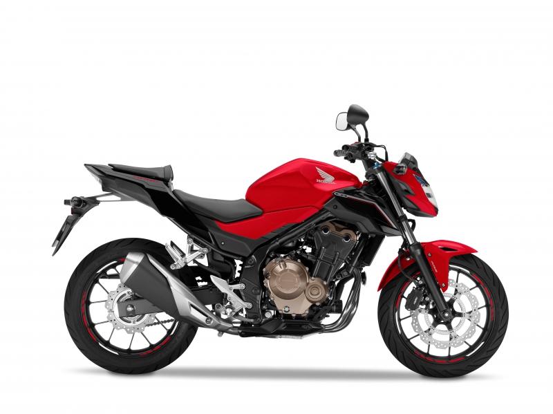 CB500F červená