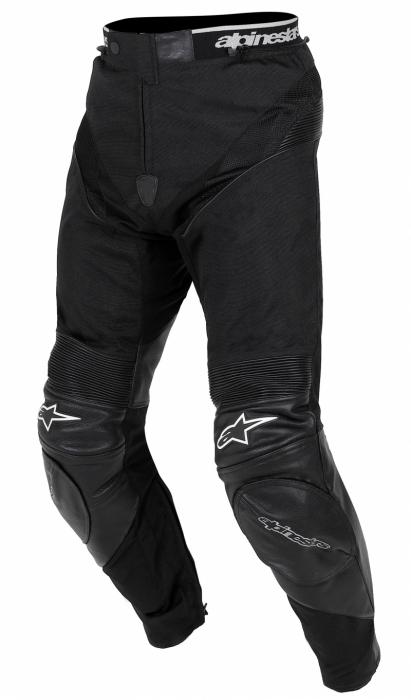 ALPINESTARS kožené kalhoty A-10, BLK
