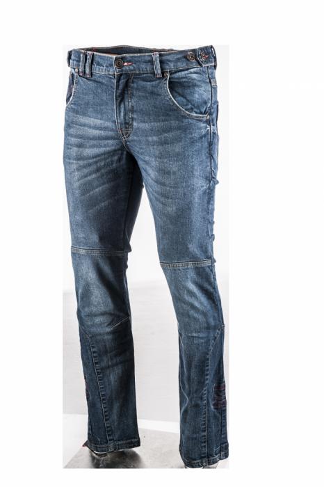 ADRENALINE textilní kalhoty Jeans Stube 2.0, BLU