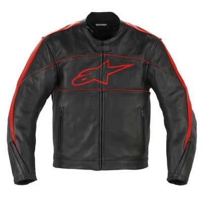 ALPINESTARS kožená bunda ATL, RED