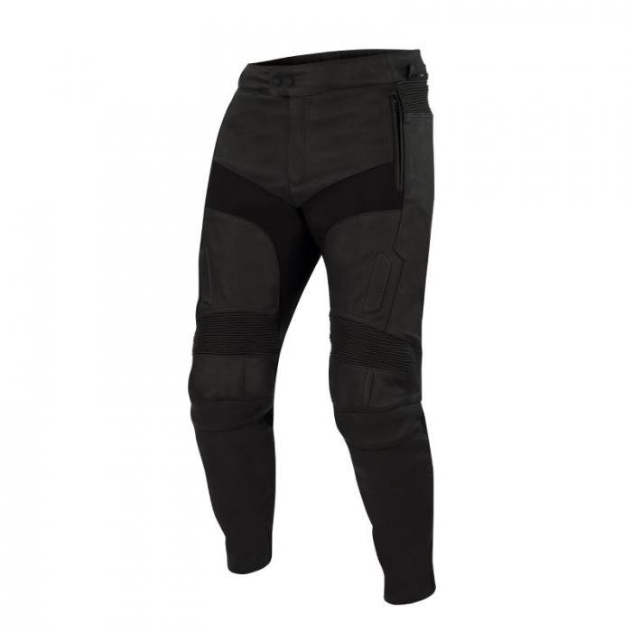 BERING kožené kalhoty Boyd, BLK