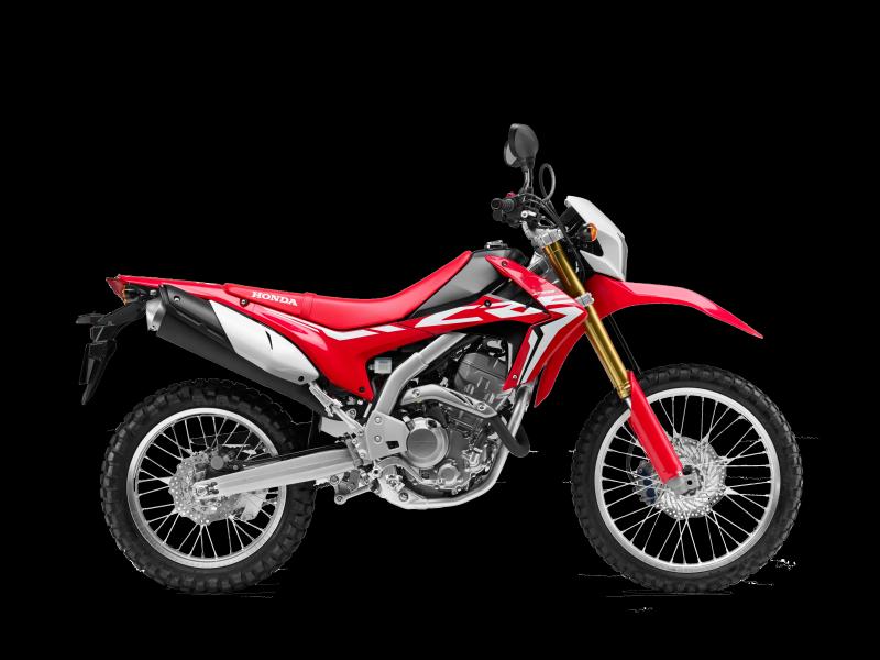 CRF250L červená