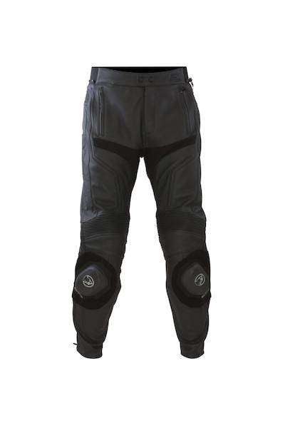 BERING kožené kalhoty Flash, BLK