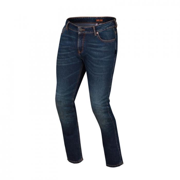 BERING textilní kalhoty Jeans Gorane, BLU