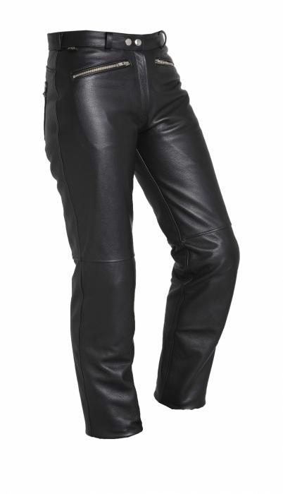 SEGURA kožené kalhoty Emma lady, BLK