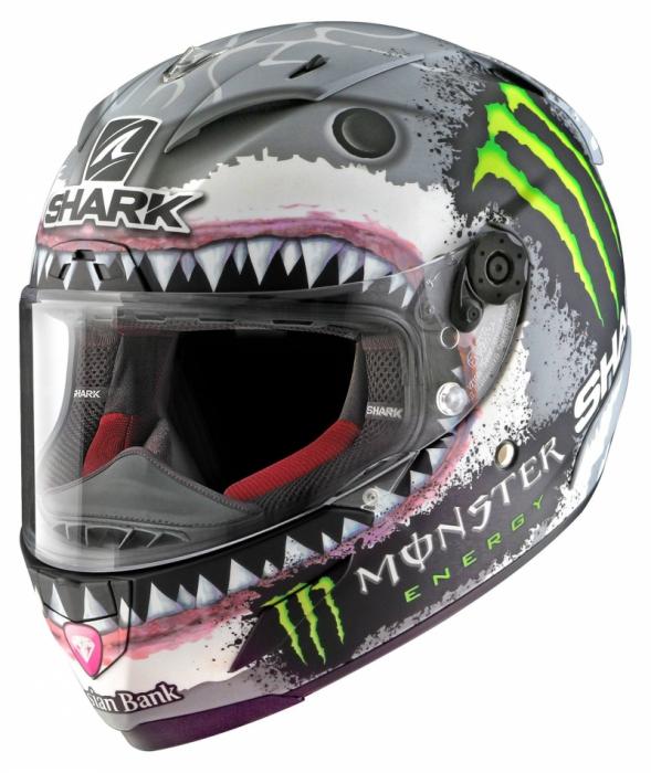 SHARK přilba RACE-R PRO Lorenzo WHITE SHARK, SWG