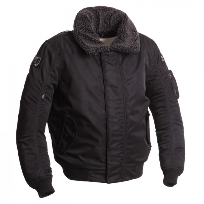 SEGURA textilní bunda Mitchell, BLK