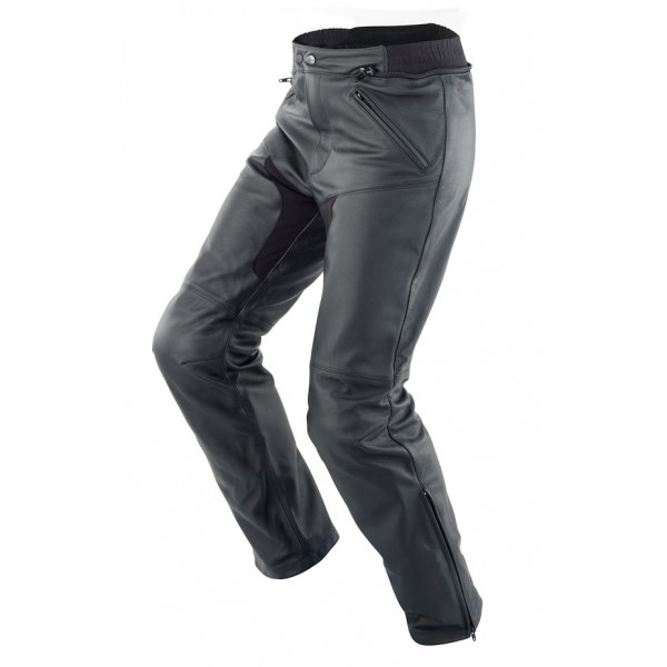 SPIDI kožené kalhoty New Naked, BLK
