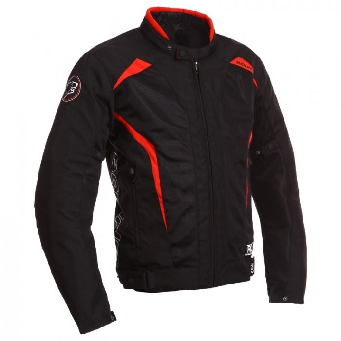 BERING textilní bunda Keers, BLK/RED