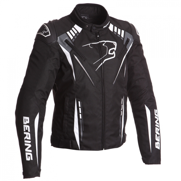 BERING textilní bunda Primo-R, BLK/WHT