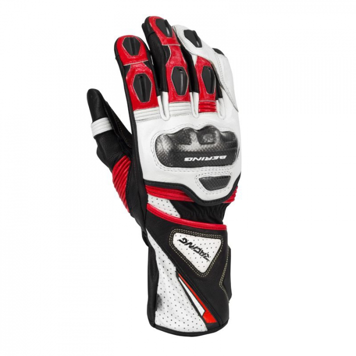 BERING rukavice Pro-R, BLK/RED