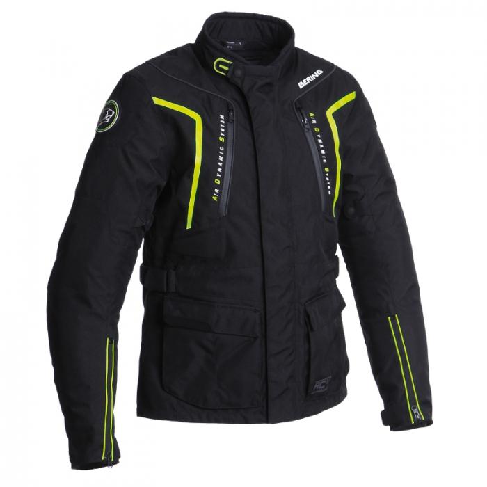 BERING textilní bunda Ralf, BLK/FLUO