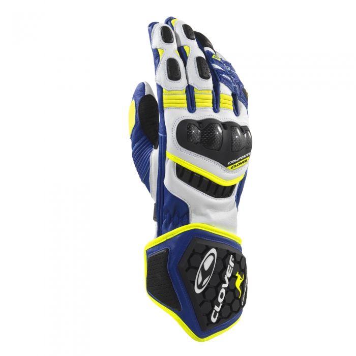 CLOVER rukavice RS-9, BL/G